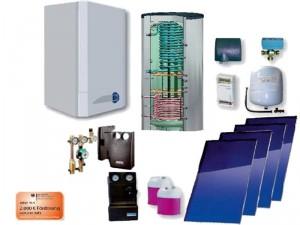 Erdgas und Solar